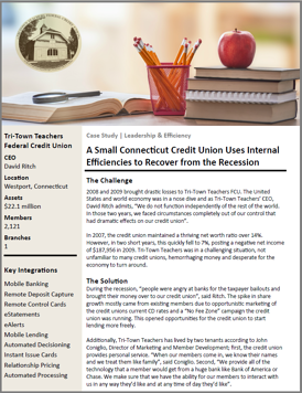 Tri-Town Teachers FCU Case Study